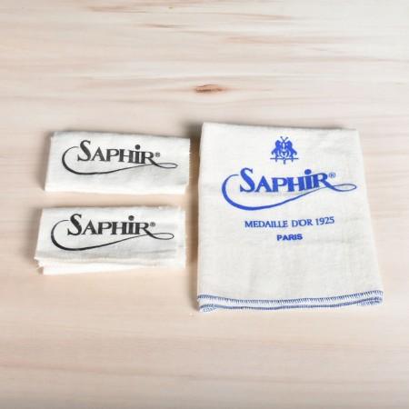 Saphir hoogglans- en insmeerdoeken - Set van 3