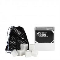 Stoned marmeren koelstenen - wit