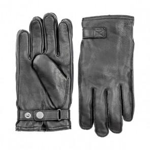 Hestra handschoenen Deerskin Terry - Black