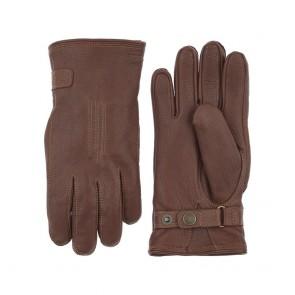 Hestra handschoenen Deerskin Lambskin - Chocolate