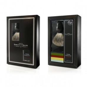 Edwin Jagger cadeauset met scheerkwast - zwart