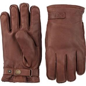 Hestra handschoenen Deerskin Terry - Chestnut