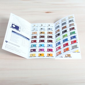 Saphir Kleurenkaart