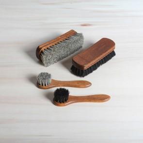 Luxe set schoenpoetsborstels