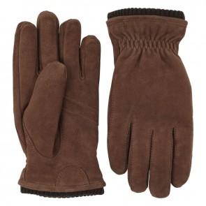 Hestra suède handschoenen Nathan - Marron