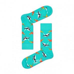 Happy Socks - Origami turqoise