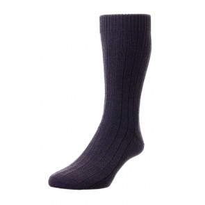 Pantherella sokken - donkerbruin