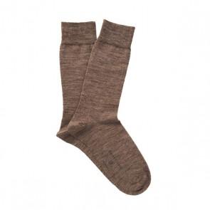 Profuomo wol & katoen sokken - camel
