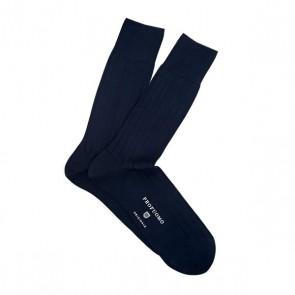 Profuomo sokken rib - navy
