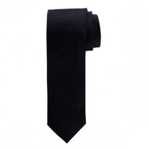 Profuomo zijden das - zwart Oxford