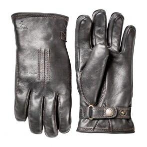 Hestra handschoenen Deerskin lambfur - Zwart