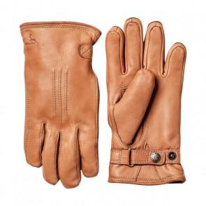 Hestra handschoenen Deerskin lambfur - Cork
