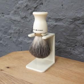 Distinctly Different pure badger scheerkwast met scheerkwasthouder - ivoor