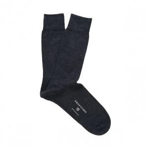 Profuomo wol & katoen sokken - antraciet