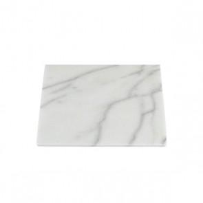 Stoned witmarmeren plaat 30x30cm