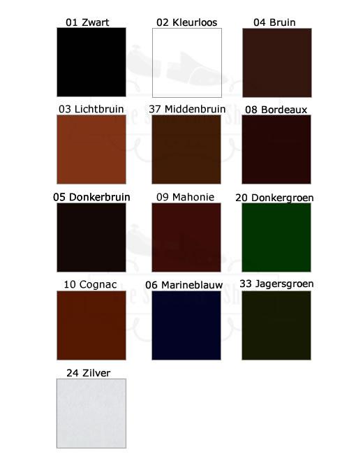 SCS Crème de Luxe kleuren